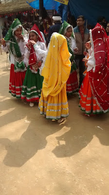 Haryanvi girls in Surajkund mela