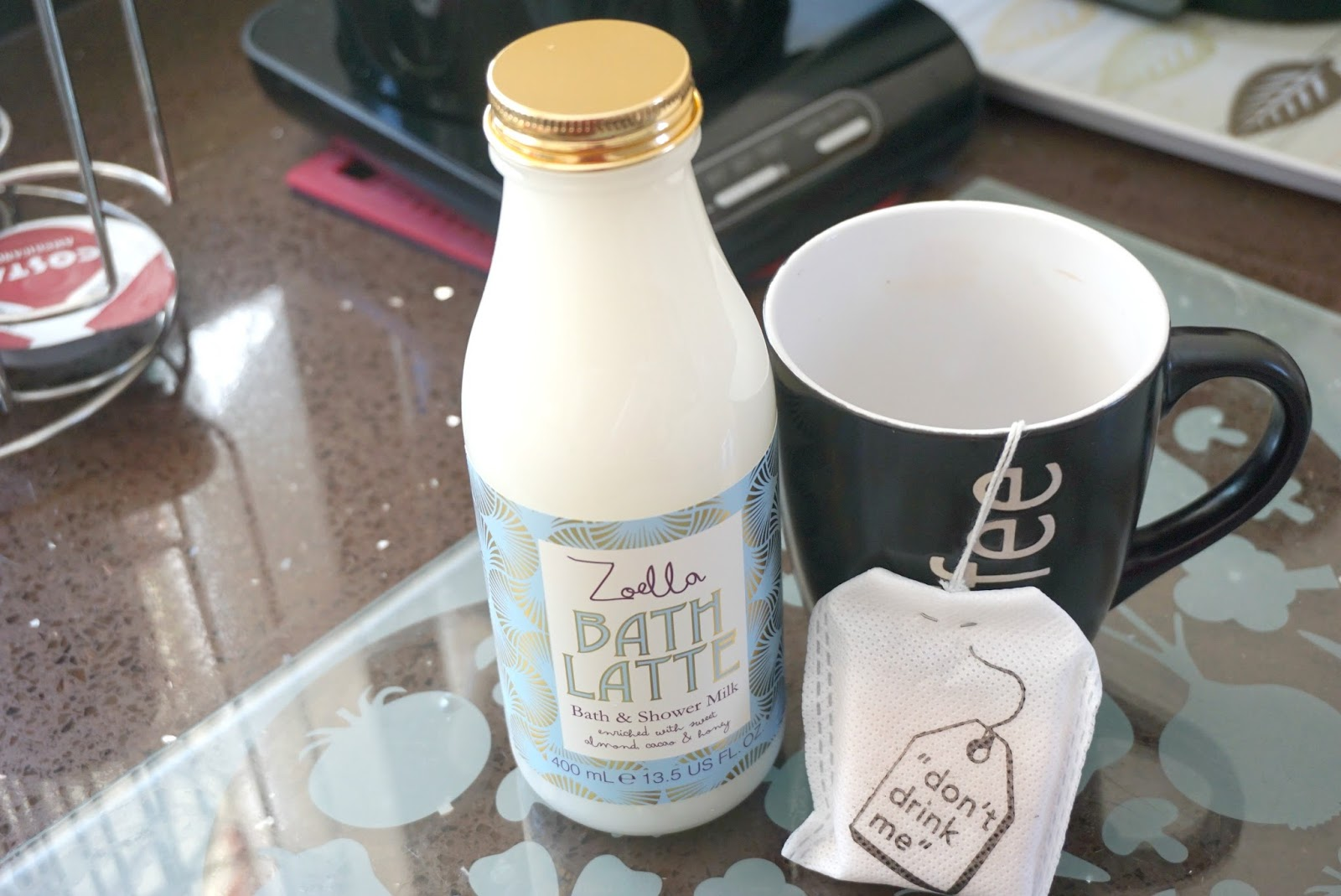 Zoella bath Latte Bubble t t-bags