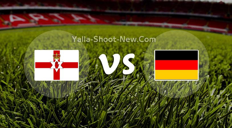 مباراة المانيا وإيرلندا الشمالية