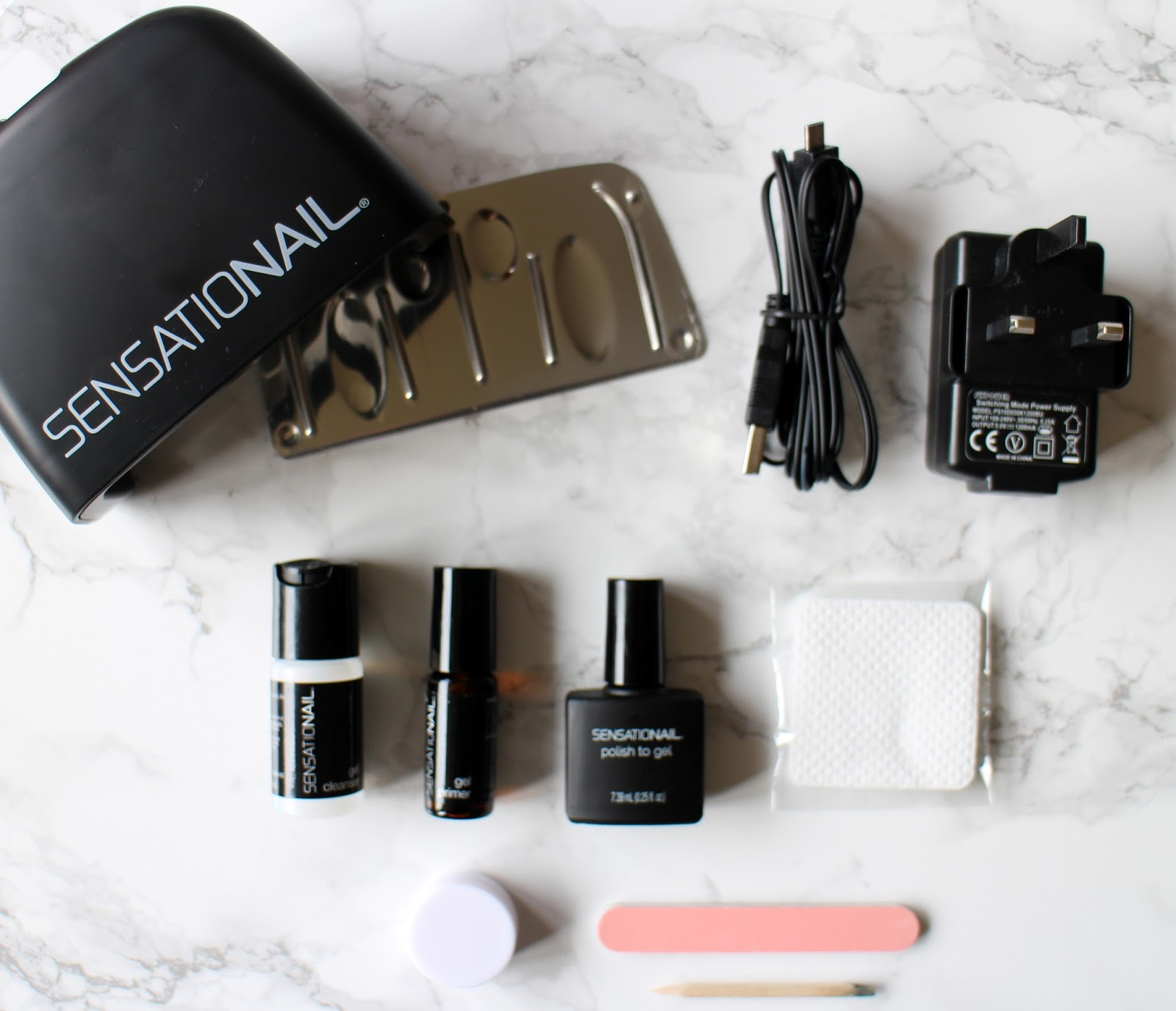 Charming Everything You Need To Do A Gel Mani, Except The Nail Polish You Mix It  With, Which You Presumably Already Own (only About Six Shoe Boxes Full, ...