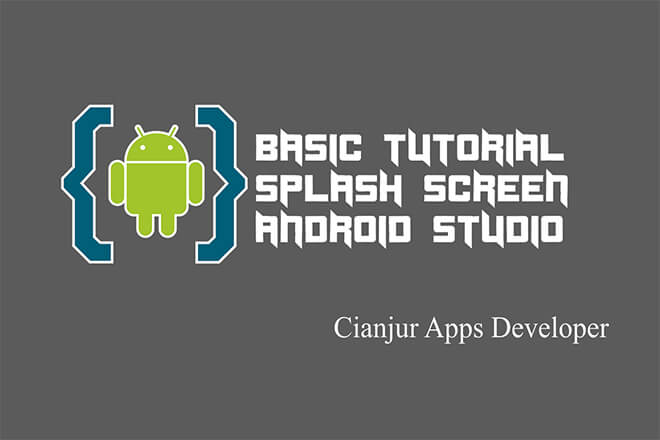 Belajar memahami dan membuat splash screen pada android studio untuk aplikasi android, progress, thread, runnable, java programming, android studio.Dari WILDAN TECHNO ART.