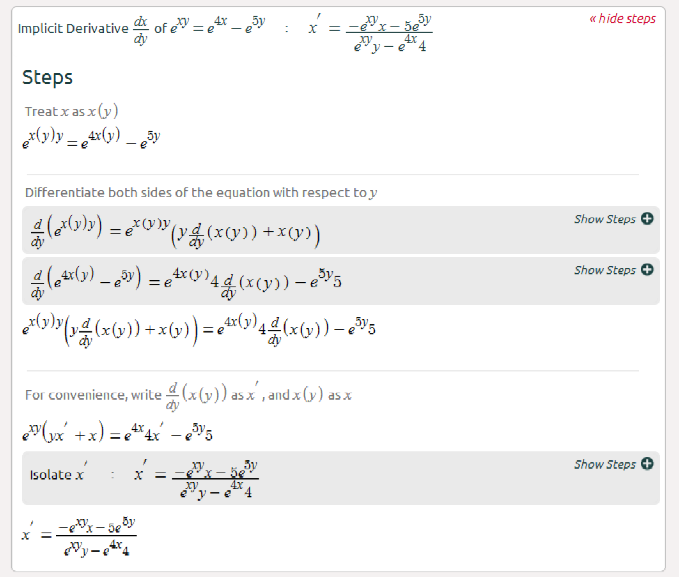 Symbolab Calculator Derivative