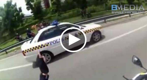 Rakaman Aksi Panas Anggota Polis Diraja Malaysia!!