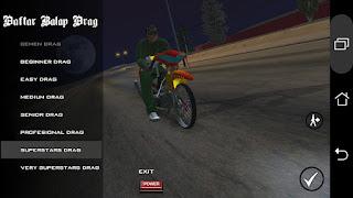 Mod Drag Race GTA SA Android