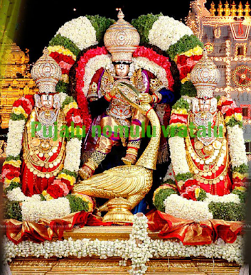 Sri Venkateshaa ashtakam in Telugu,balaji images