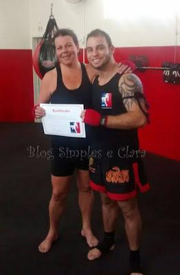 Gradução Muay Thai do Blog Simples e Clara