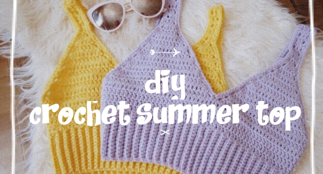 Crochet Summer Top Pattern Awesome Ideas