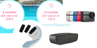 Logo Vinci gratis voucher vacanze, Speaker Jam, Action Cam e 40 Soft as Silk