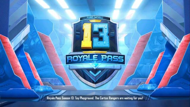 PUBG Mobile Sezon 13 Ücretsiz Royale Pass Ödüller Listesi!