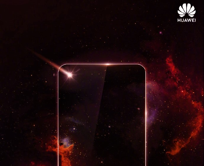 Huawei Teases Smartphone With Screen Hole For Selfie Camera