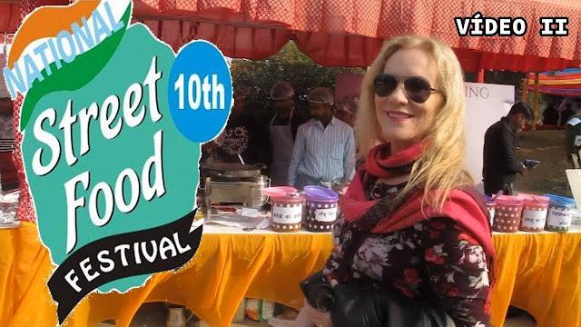 Festival de Comida de Rua na Índia