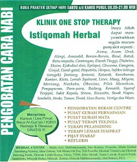 klinik terapi pengobatan bekam dan gurah serta herbal