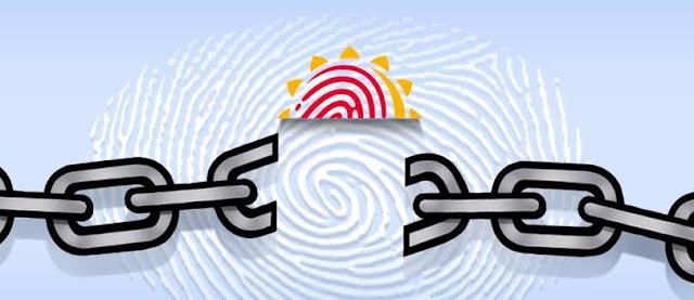 Aadhaar card delink from paytm