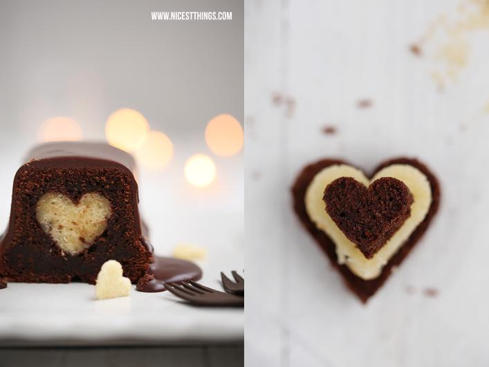 Kuchen mit Herz backen Motivkuchen Rezept