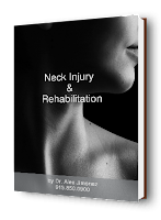 blog picture of lady head turned with a neck injury