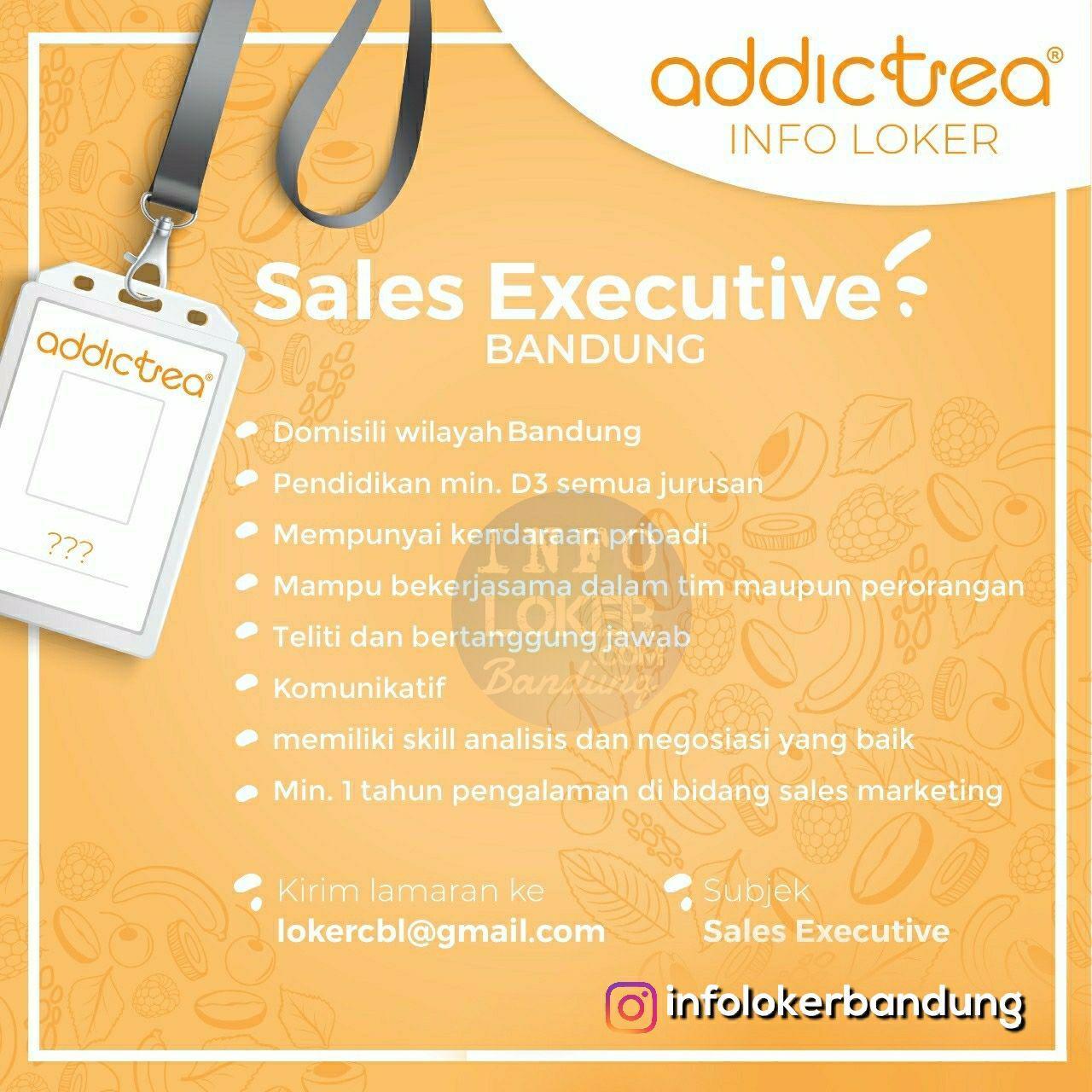 Lowongan Kerja Addictea Bandung November 2018