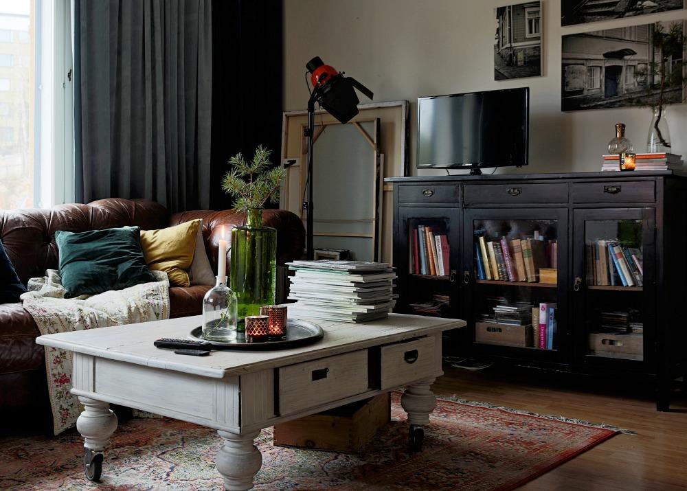 Olohuone, sisustus, sisustaminen, koti, Svanefors