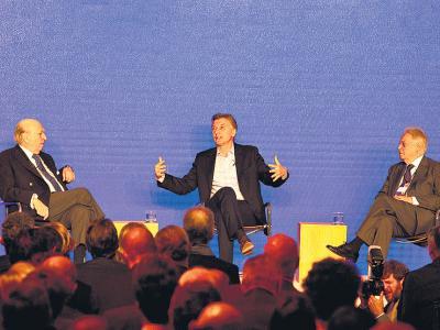 "Entre ""capos"" Macri habló de ""mafiosos"""