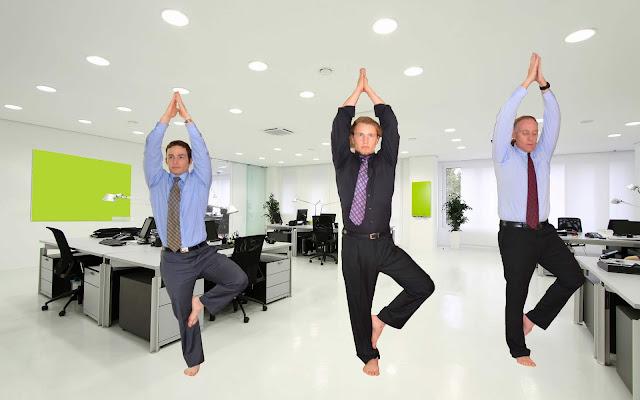 Nhân viên văn phòng thầm cám ơn Yoga qua những lợi ích này