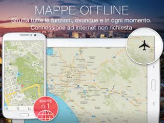 navigatore offline android e iphone