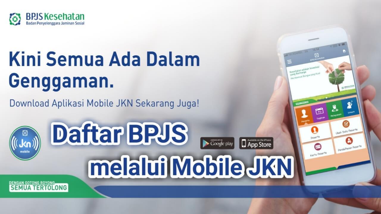 Daftar BPJS melalui aplikasi Mobile JKN