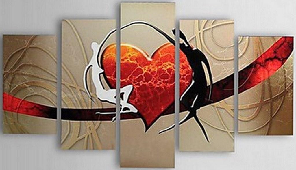 cuadro decorativo calas pinturas en acrilico pinterest