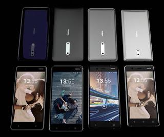 four new nokia phones