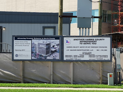 Harris County Institute of Forensic Sciences - New facility project info posted on site