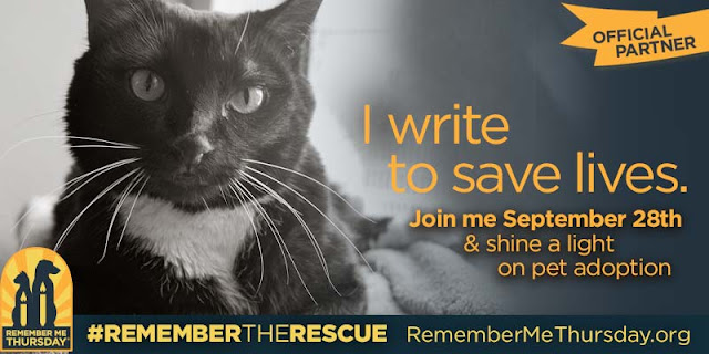 I write to save lives--#RememberTheRescue
