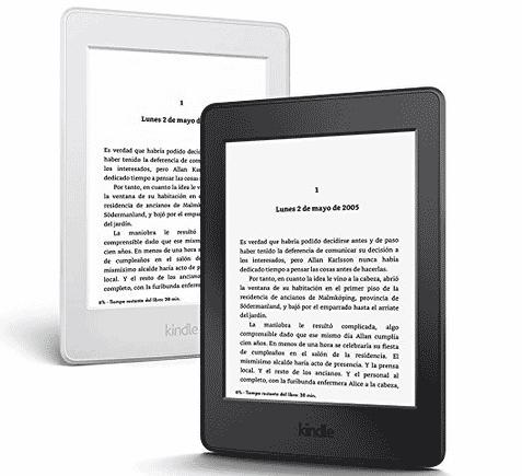 Las principales características funcionales del lector de ebooks Kindle Paperwhite