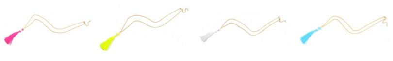 Purple Peridot Allure Tassel Necklace $5 (reg $24)