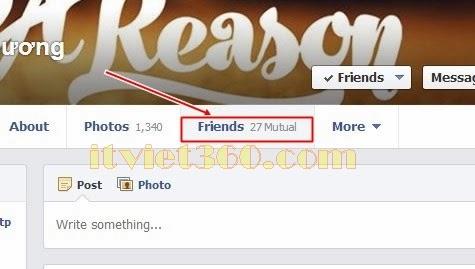 Cách ẩn danh sách bạn bè của mình với mọi người trên Facebook