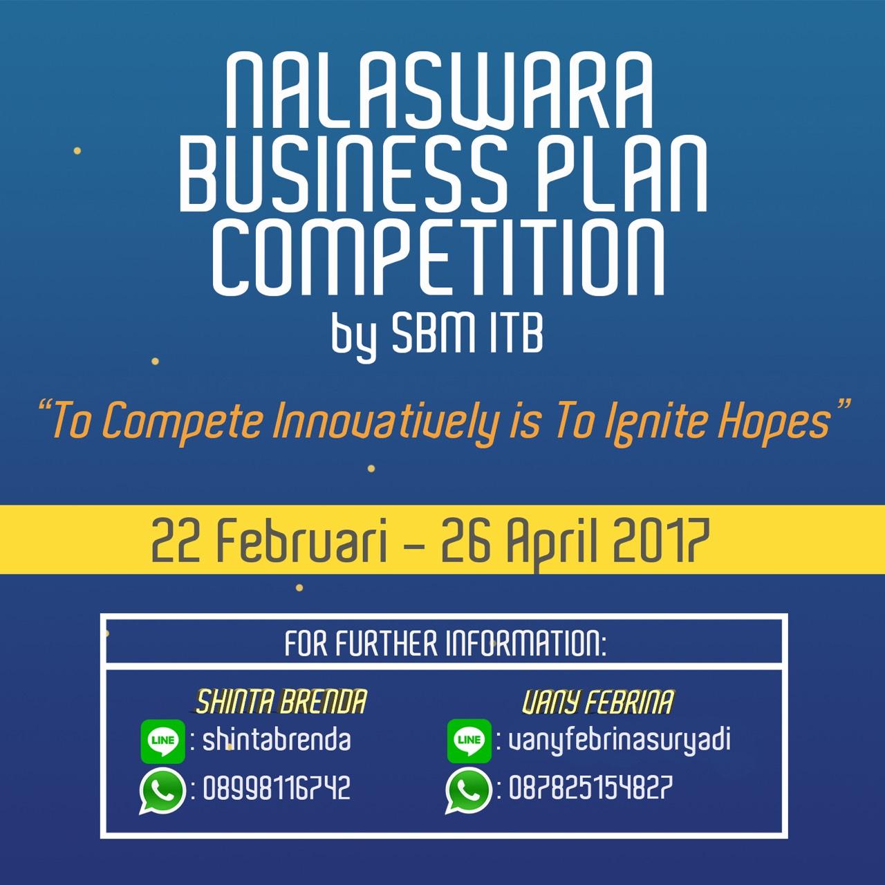 Nalaswara Business Plan Competition 2017