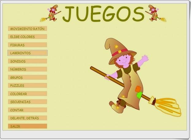 """Juegos de """"Duendes Mágicos"""". Educación Infantil de 4 años."""