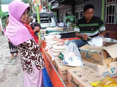 Gula dan Minyak Goreng, Operasi Pasar Safari Ramadhan Banyak Diminati Warga