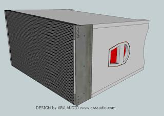 Skema box line array 10 inch LA101