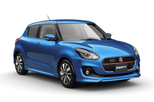 2017 Maruti Swift blue colour image