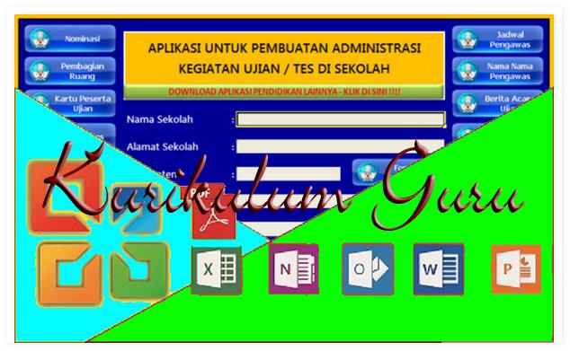 Download Aplikasi Untuk Memudahkan Administrasi Ujian Sekolah