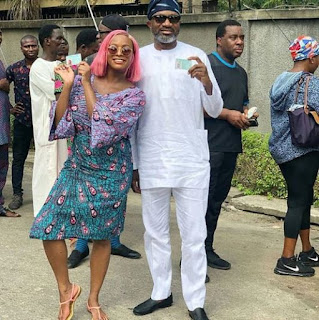 Femi Otedola casted vote