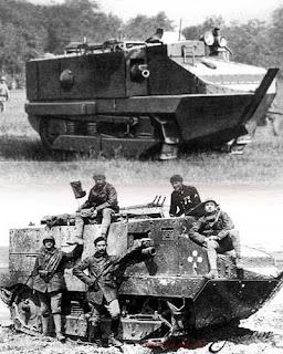 5 Tank Pertama yang di Gunakan dikala Perang Dunia 1
