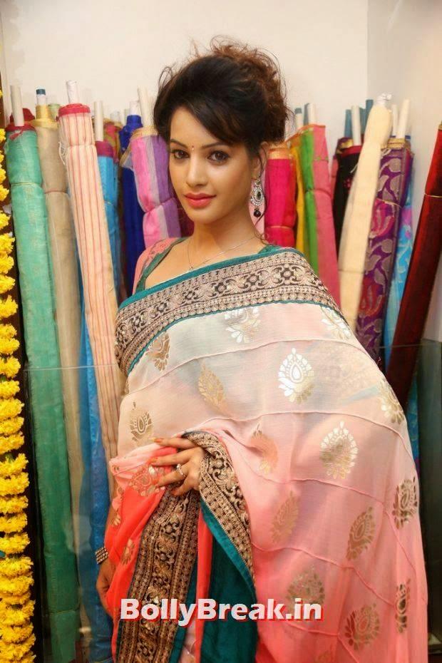 , Actress Deeksha Panth Photos from Saree Store Opening