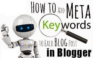 How To Add Meta Keyword For Each Blogger Post