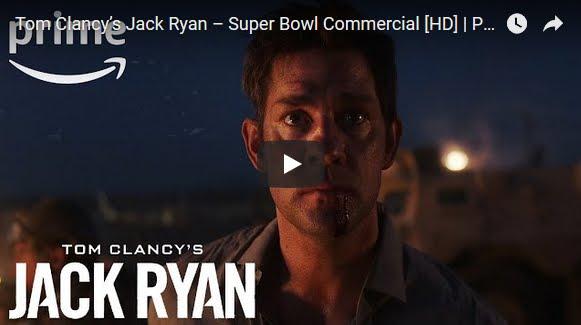 Super Bowl Spot dedicato a Tom Clancy's Jack Ryan con Amazon Prime Video