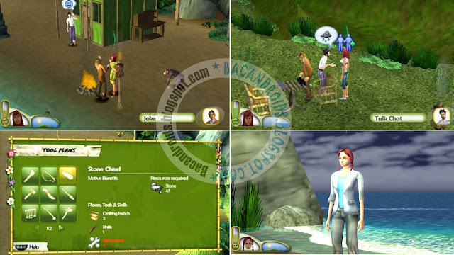 Game The Sims 2 Castaway ISO PSP Emulator
