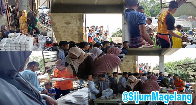 Berbagi Nasi Untuk Jumat Ini Masih Di Masjid Al Huda, Mertoyudan Magelang