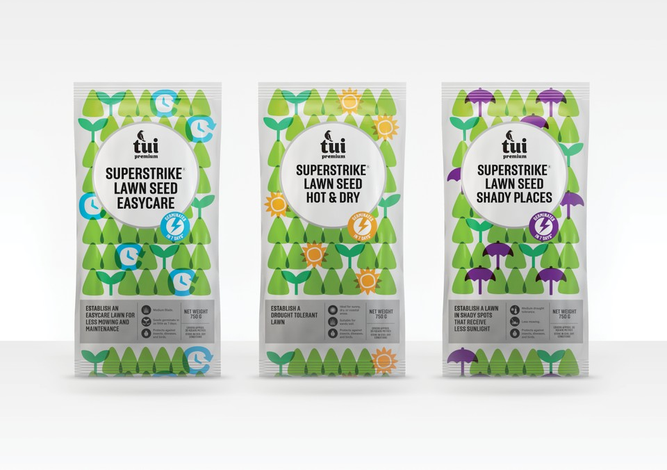 Tui Garden Products On Packaging Of The World Creative