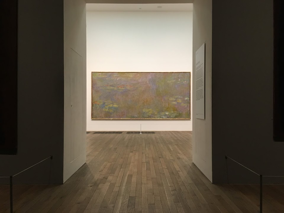 テート・モダン(Tate Modern)Claude Monet and Mark Rothko(Room 9)