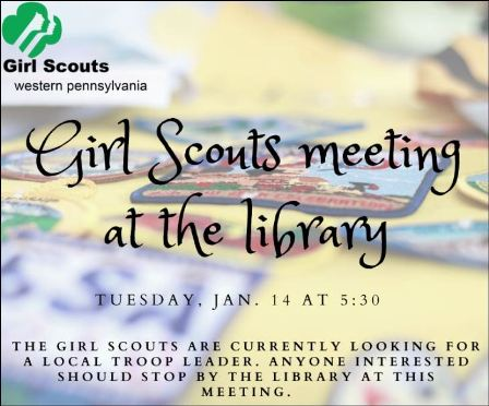 1-14 Meeting for potential Girl Scout Leaders