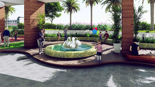 không gian vui chơi chung cư The Golden Palm