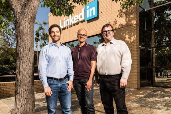 微軟收購LinkedIn